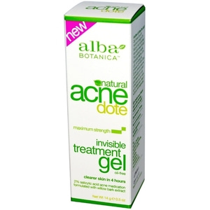 [해외] Alba Botanica, Acne Dote, Invisible Treatment Gel, Oil-Free, 0.5 oz (14 g) 이케아 구매대행, 해외직구 - 트롤리샵